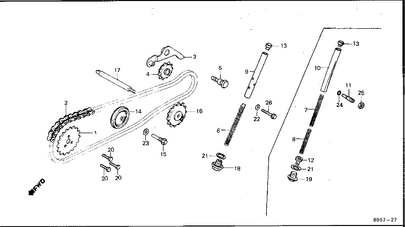 honda atc 70 carburetor diagram