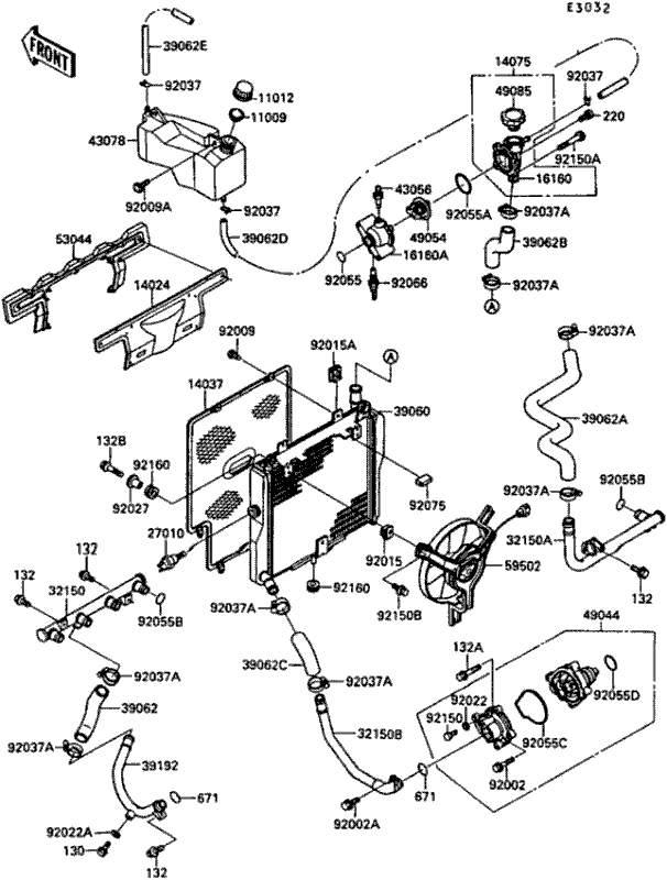 1989 Kawaski X2 Battery Wiring Diagram