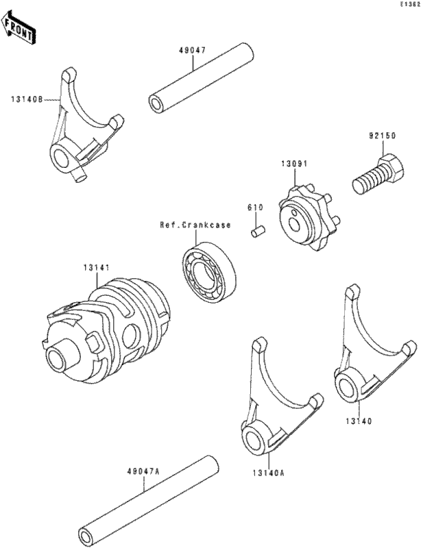 Kawasaki 250 Ltd Wiring Diagram
